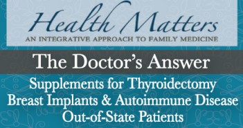 The Doctor's Answer - Q & A's Thyroid and Autoimmune Disease