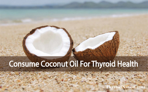 Start Consuming Coconut Oil And Get Off Your Thyroid Medication