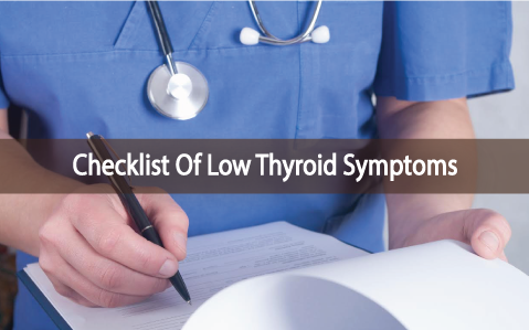 Dr jill shares her low thyroid function checklist and treatment