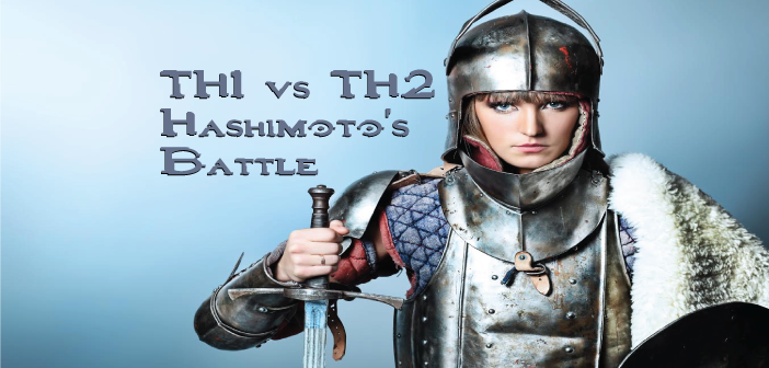 TH1-vs-TH2-Dominance-The-Battle-Hashimoto's-Disease-Wages