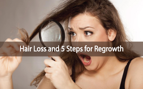 Hair Loss Your Thyroid And 5 Steps For Regrowth