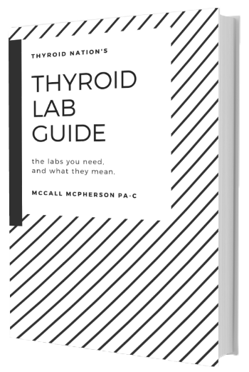 Thyroid Lab Guide Book Cover